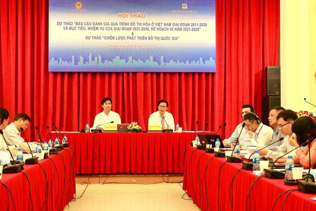 Báo cáo đánh giá quá trình đô thị hóa ở Việt Nam và Chiến lược phát triển đô thị quốc gia
