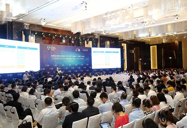 Diễn đàn Kinh tế Việt Nam 2018: Mở rộng thị trường vốn, tài chính Việt Nam – Giải pháp và thách thức