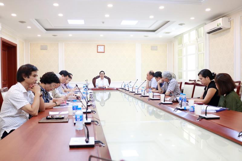 Nghiệm thu Dự án sự nghiệp kinh tế Định hướng kiến trúc vùng Đồng bằng Sông Hồng