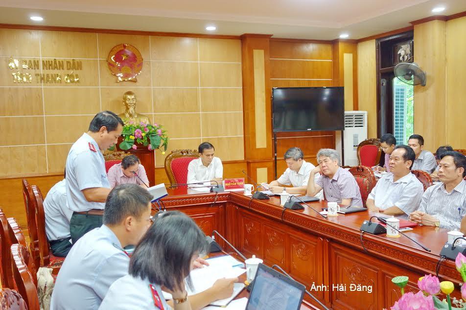 Thanh Hóa: Hội nghị công bố Kết luận thanh tra của Thanh tra Bộ Xây dựng