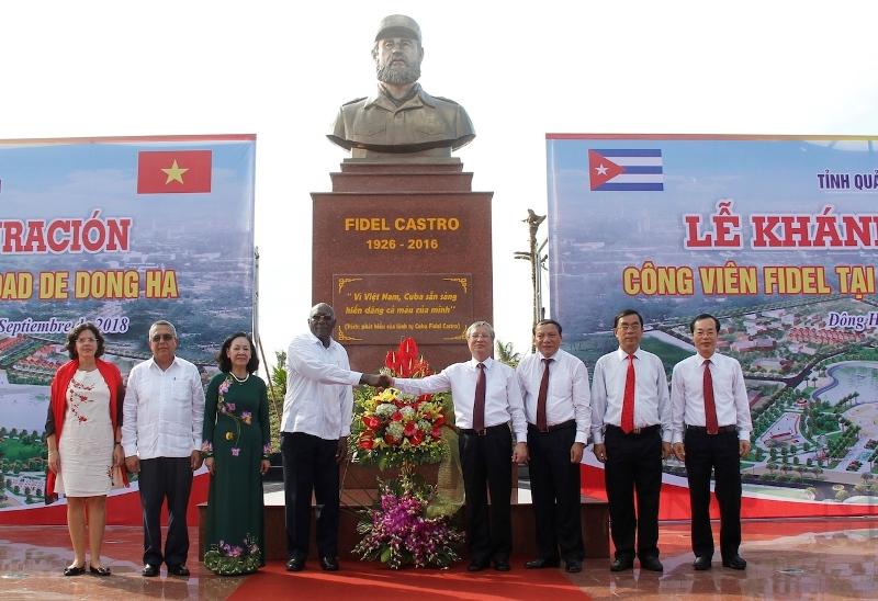 Khánh thành công viên Fidel tại TP. Đông Hà, Quảng Trị