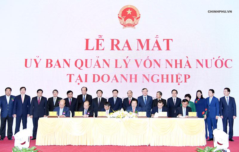 Ra mắt Ủy ban Quản lý vốn nhà nước tại doanh nghiệp