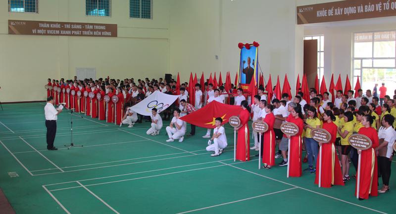 Khai mạc Hội thao 2019, thắt chặt tình đoàn kết VICEM