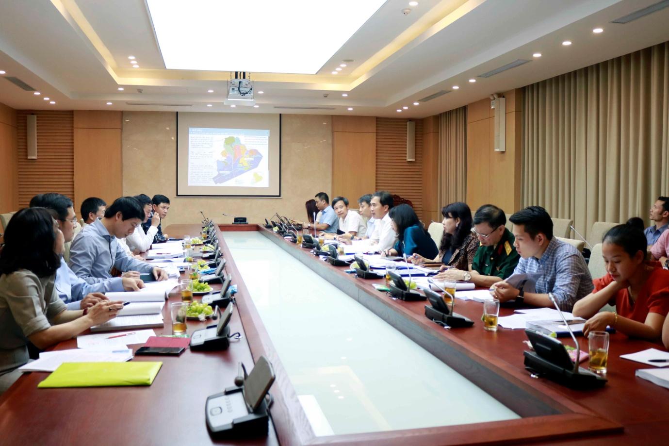 Thẩm định Điều chỉnh quy hoạch chung xây dựng KKT cửa khẩu Móng Cái