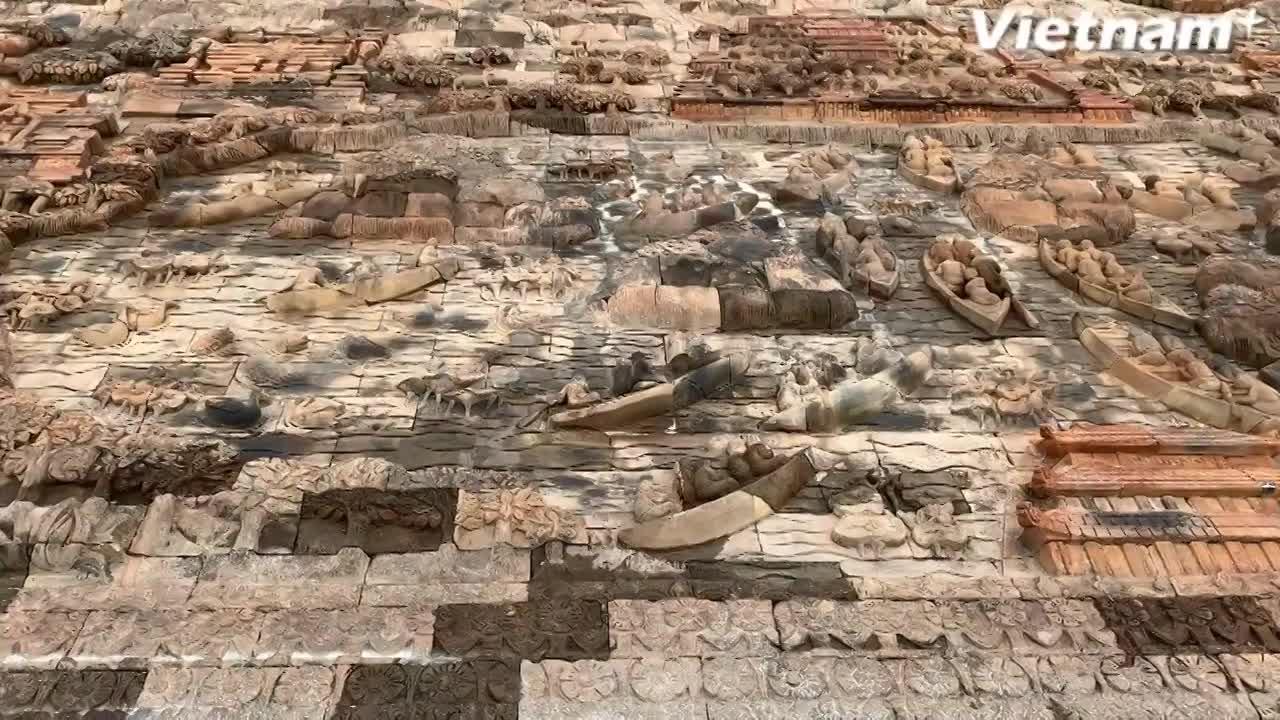 Chi tiết bên trong kiến trúc độc đáo quần thể chùa Tam Chúc