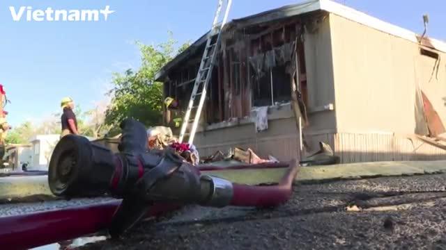 Cận cảnh thiệt hại do động đất 7,1 độ tại Nam California