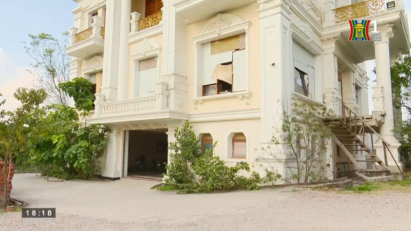 Huyện Ứng Hòa: Dấu hiệu cấp phép xây dựng trái quy định trên hành lang thoát lũ