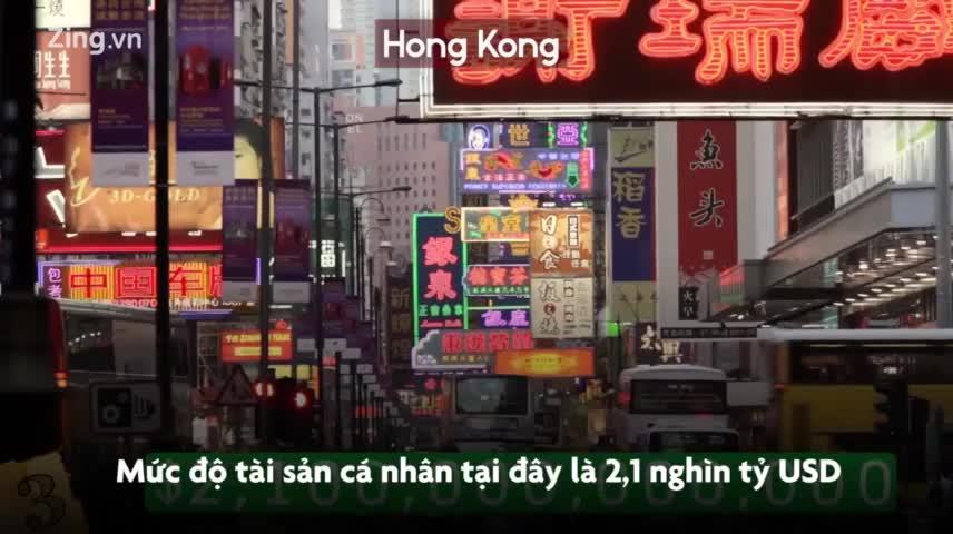4 thành phố có nhiều tỷ phú nhất thế giới