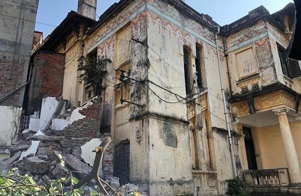 Hà Nội: Ngừng hạ giải biệt thự cổ trạm phát sóng Bạch Mai