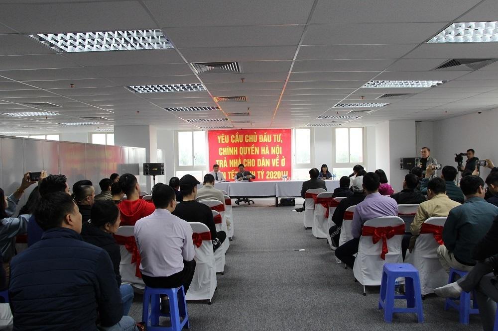 Hà Nội: Bức xúc đỉnh điểm, người mua nhà 8B Lê Trực yêu cầu chủ đầu tư, chính quyền Hà Nội trả nhà đón Tết