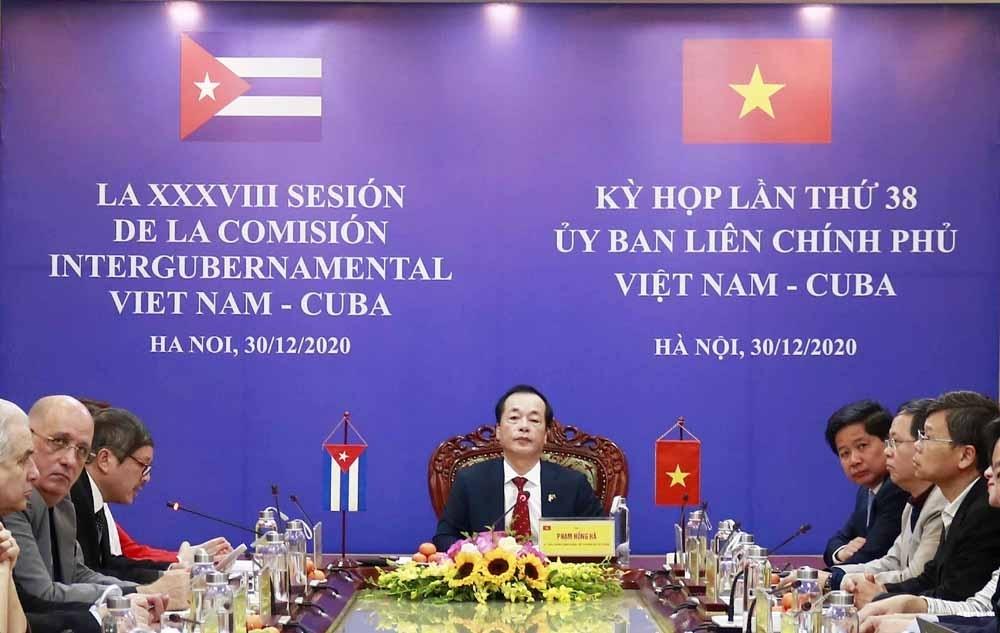 Việt Nam tiếp tục là đối tác thương mại lớn thứ 2 của Cuba ở khu vực châu Á