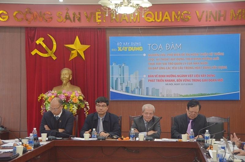 Tọa đàm nghiên cứu, phân tích tiềm năng và các nguồn lực để phát triển ngành công nghiệp VLXD Việt Nam theo đặc thù từng địa phương trên cả nước
