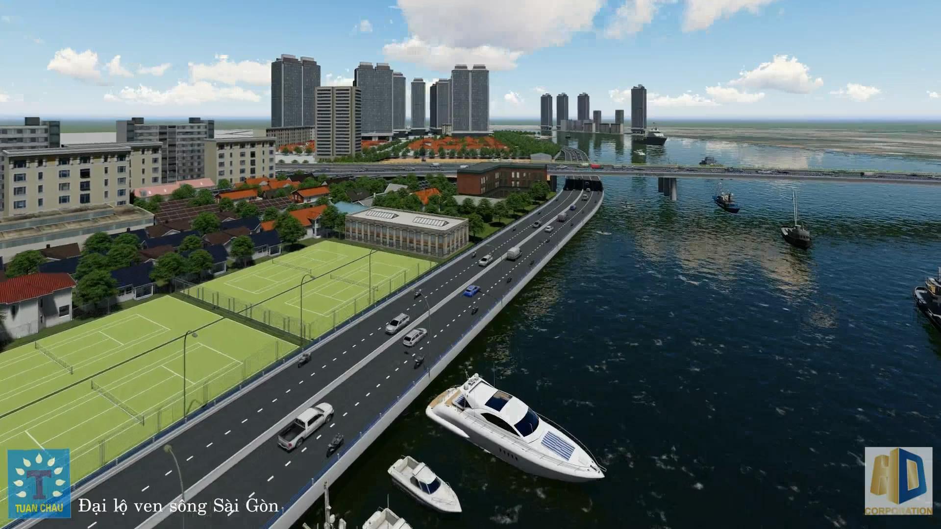 Mở rộng và phát triển đô thị phía tây TP Hồ Chí Minh