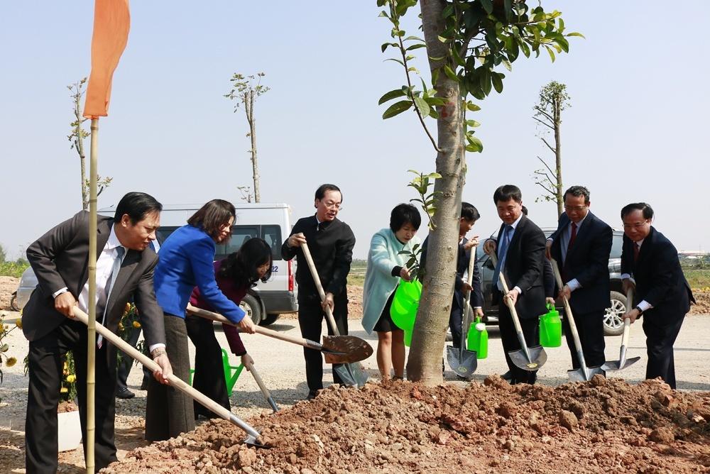 Viglacera phát động Tết trồng cây Xuân Canh Tý 2020