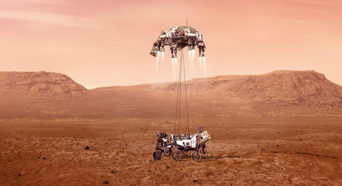 Tàu thăm dò NASA hạ cánh thành công xuống Sao Hỏa