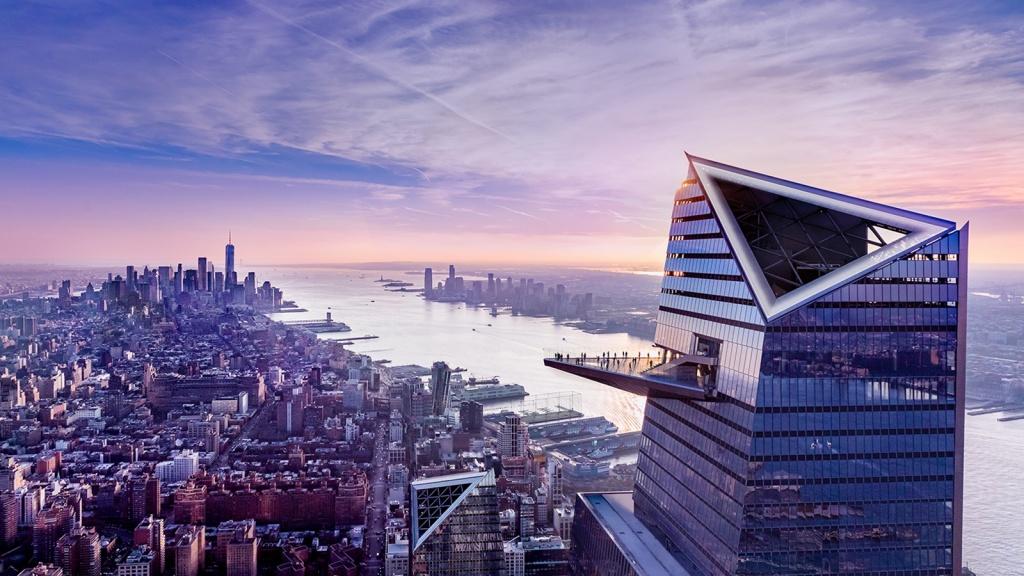 Sân ngắm cảnh ngoài trời ở tầng 100, cao thứ 5 thế giới