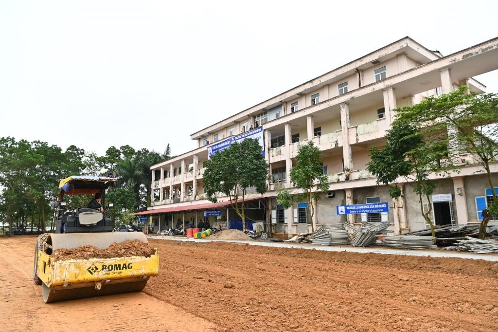 'Hô biến' bệnh viện bỏ hoang thành khu điều trị Covid-19