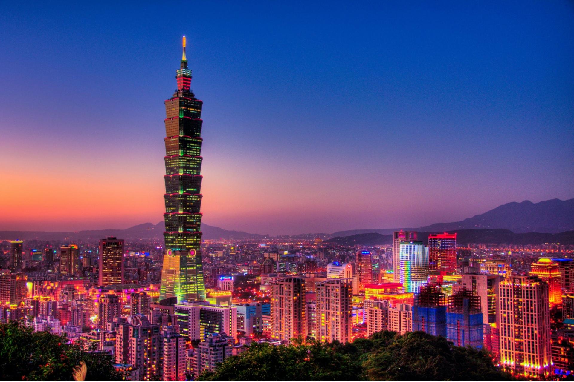 Tháp chọc trời cao nhất ở Đài Loan