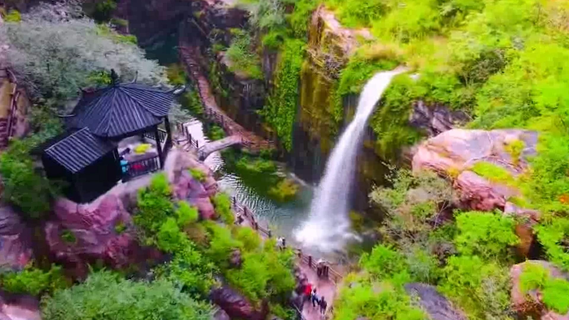 Khu rừng nguyên sinh như xứ thần tiên ở Trung Quốc
