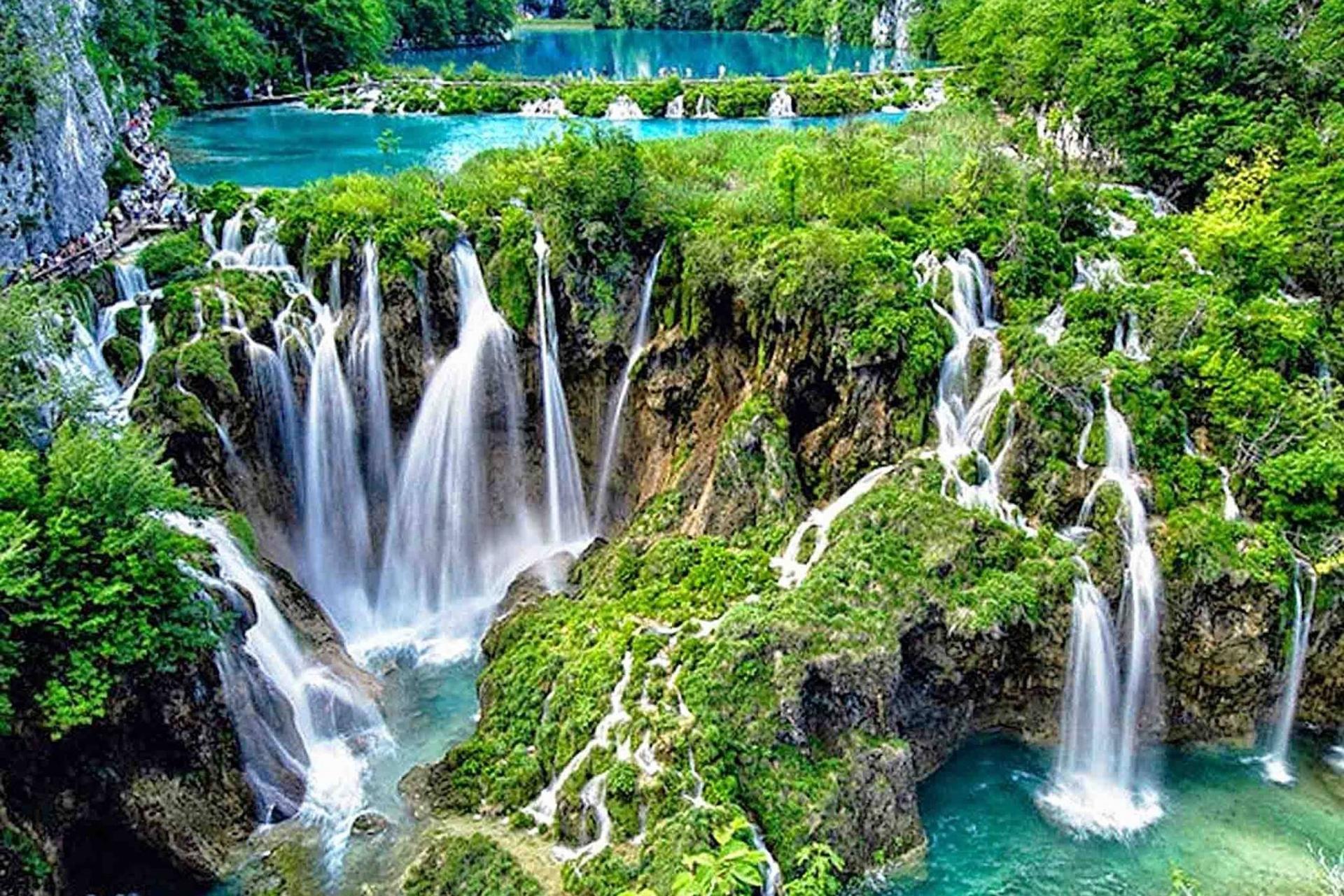 Vẻ đẹp của vườn quốc gia hồ Plitvice