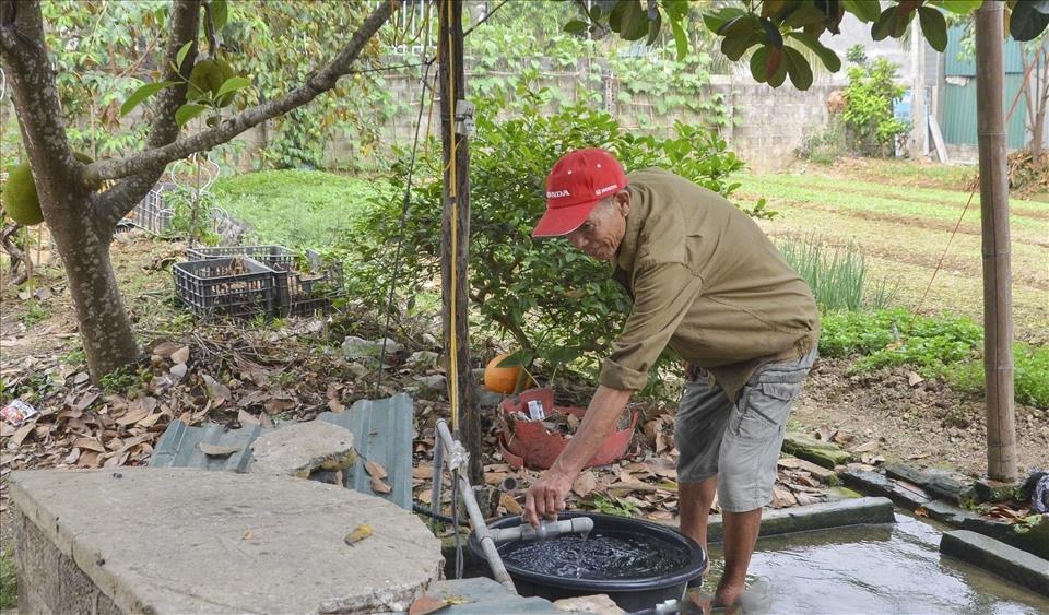 Điện Biên: Bất cập trong công trình nước máy, người dân quay lại nước giếng