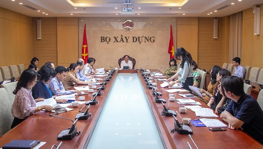 Bộ Xây dựng họp về Chương trình xây dựng Văn bản quy phạm pháp luật 2021