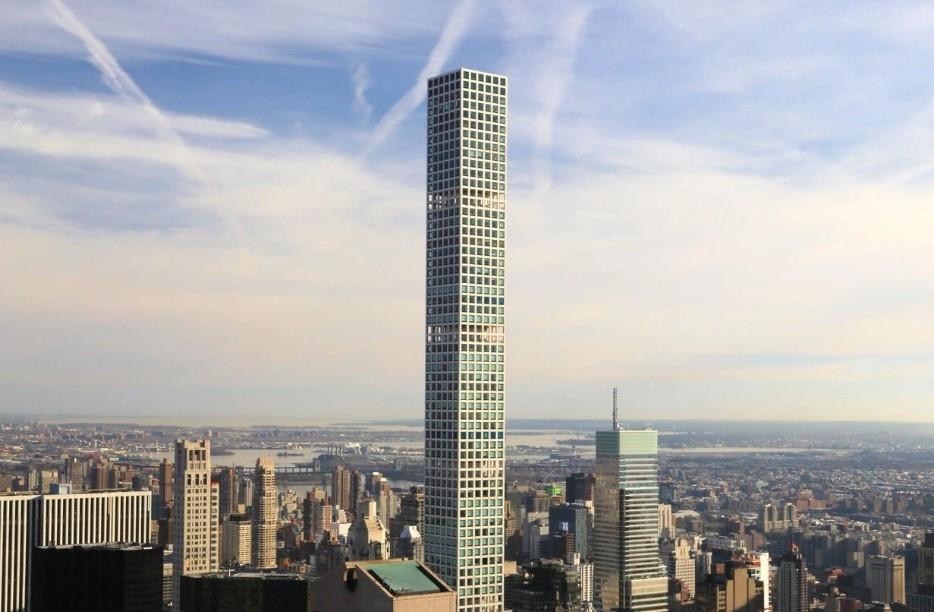 Hệ thống giúp tòa chung cư đắt nhất New York không lắc lư trước gió