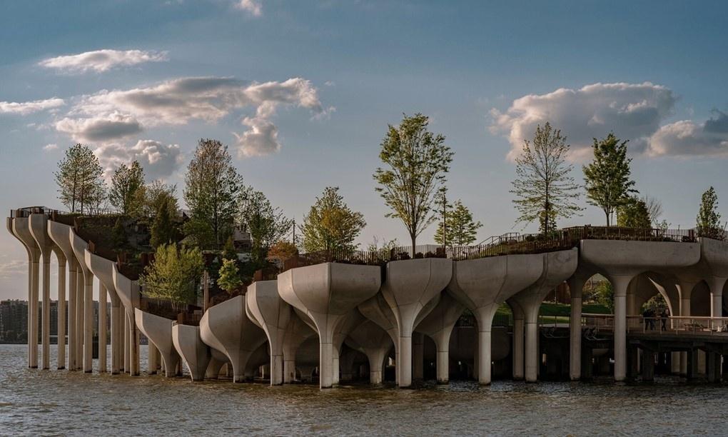 Công viên nổi trên sông ở New York