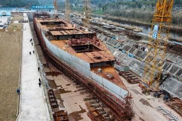 Bản sao tàu Titanic ở Trung Quốc