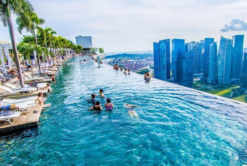 Những bể bơi ngoạn mục nhất thế giới