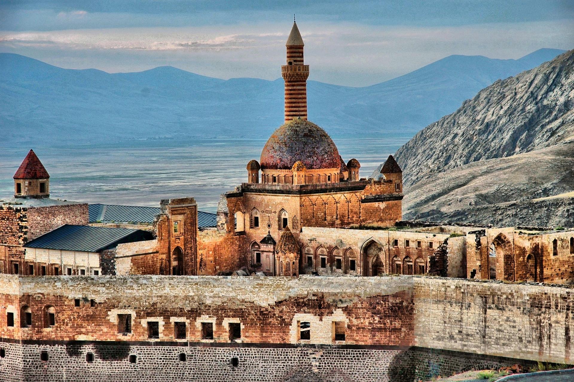Lâu đài cuối cùng của đế chế lừng danh một thời ở Thổ Nhĩ Kỳ