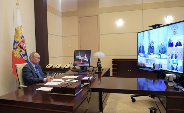 Lần đầu hé lộ căn phòng bí mật của Tổng thống Putin