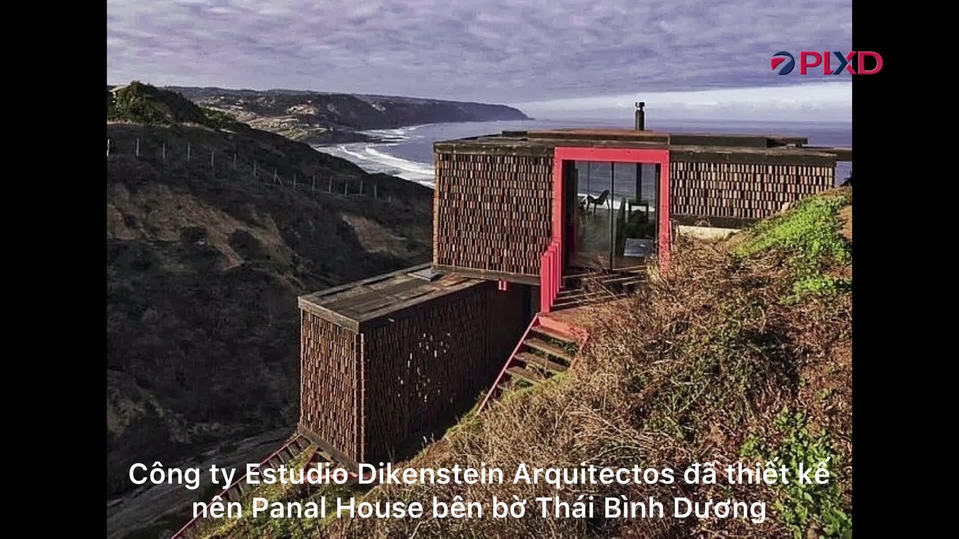Lạ lùng ngôi nhà bên bờ biển Thái Bình Dương