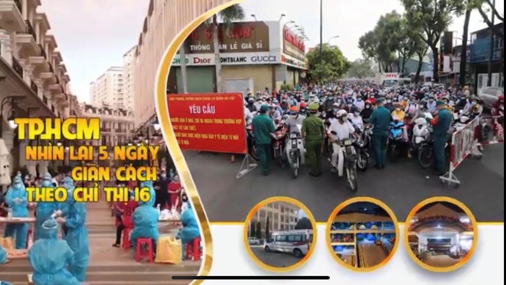 Thành phố Hồ Chí Minh: Nhìn lại 5 ngày giãn cách theo Chỉ thị 16