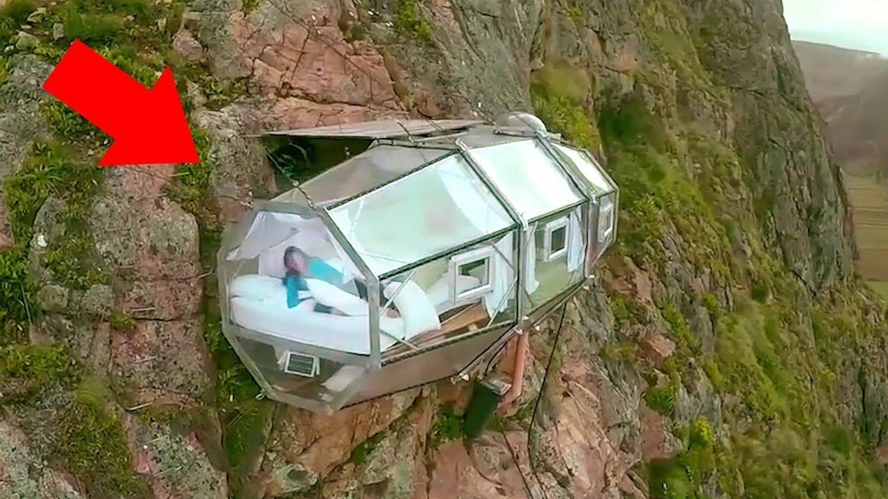 Trải nghiệm sống ở những ngôi nhà cheo leo trên vách núi