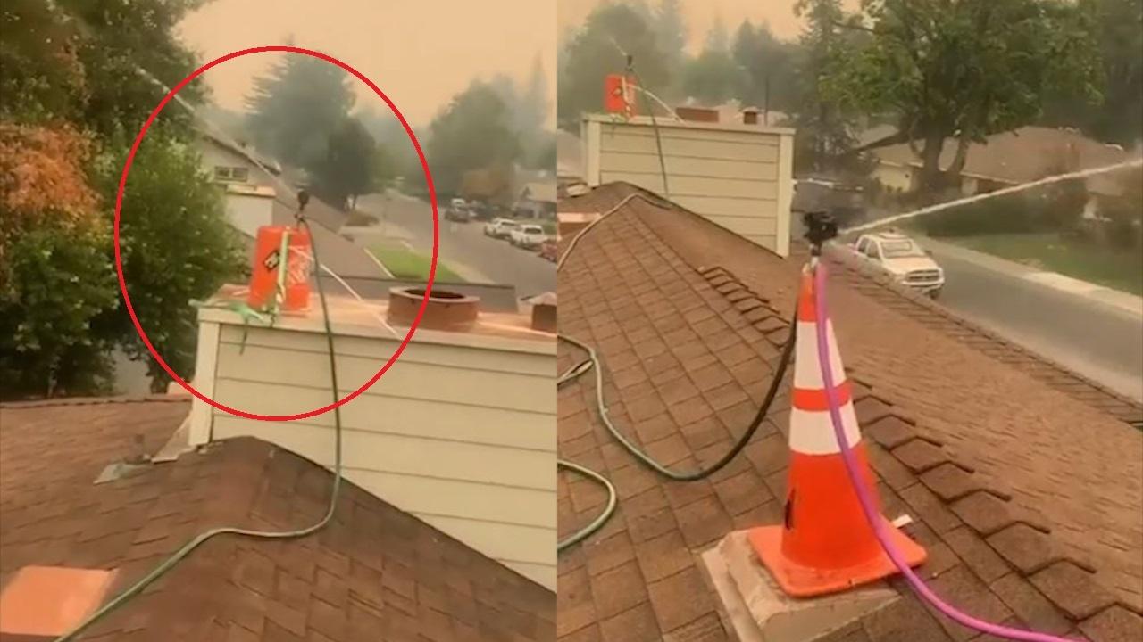 Tự chế hệ thống phun nước phòng chữa cháy cho nhà riêng