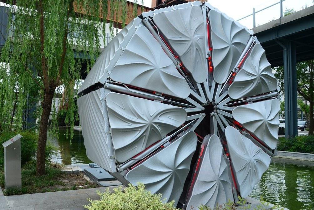 Cây cầu co duỗi in 3D đầu tiên ở Trung Quốc