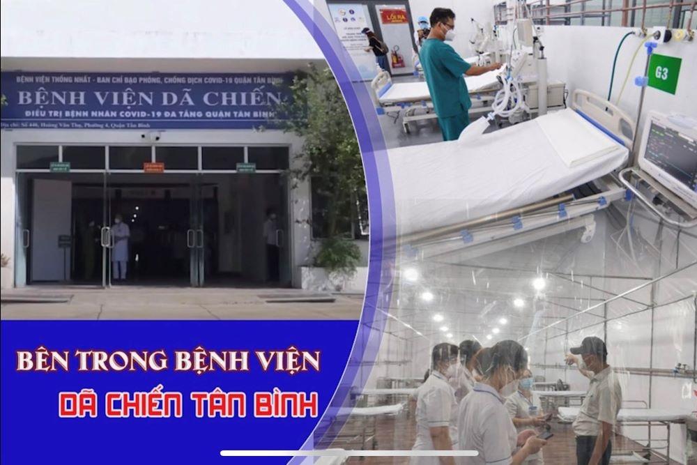 Bên trong Bệnh viện dã chiến Tân Bình