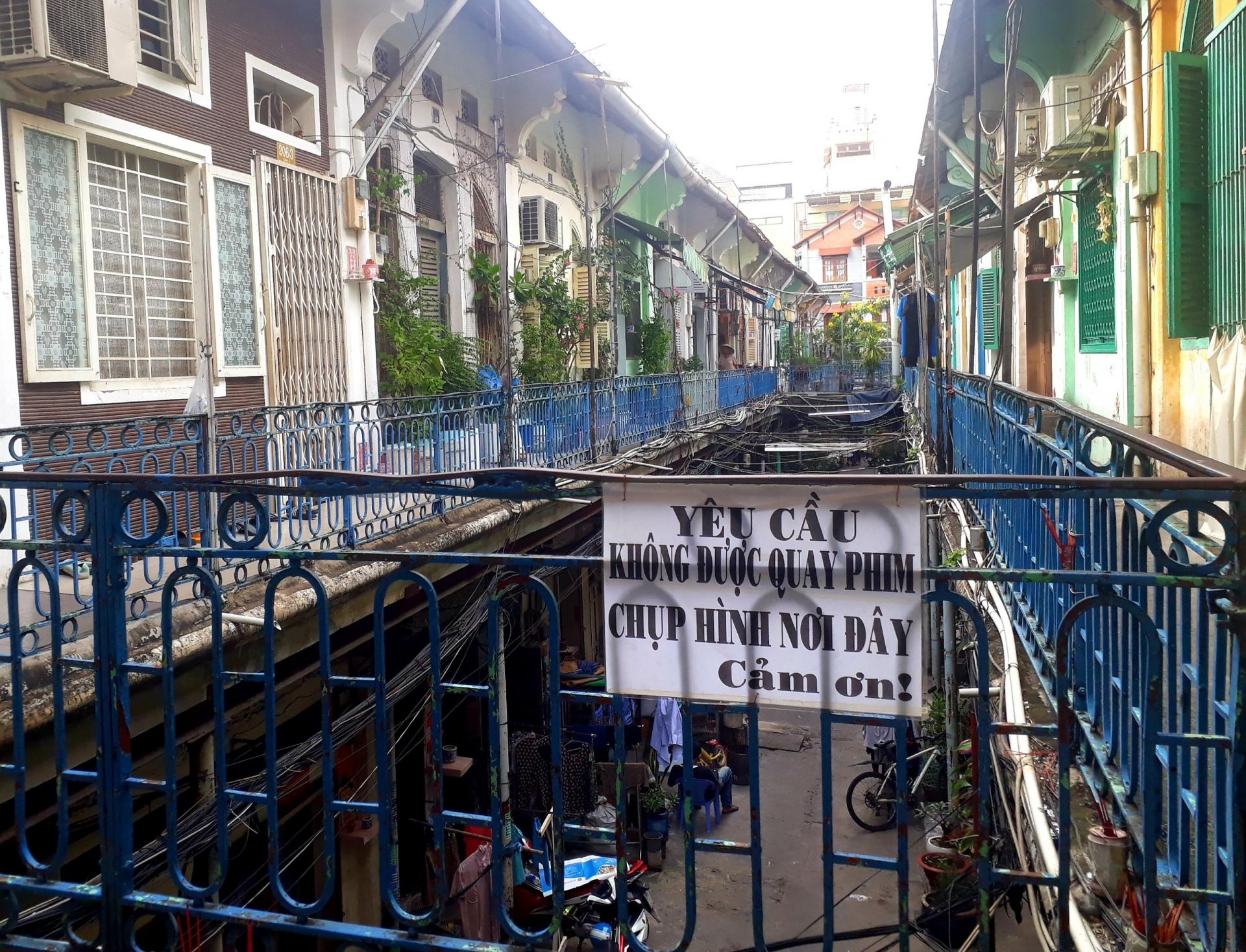 Cư dân Hào Sĩ Phường: 'Đây là nhà ở, không phải phim trường'