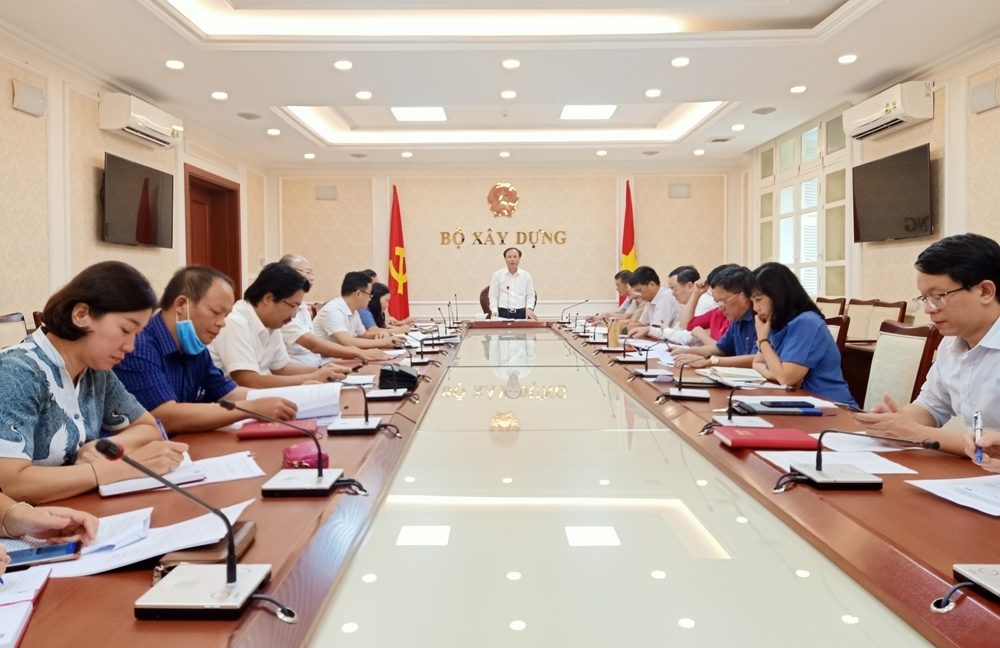 Họp Ban chấp hành Đảng bộ Bộ Xây dựng nhiệm kỳ 2020–2025