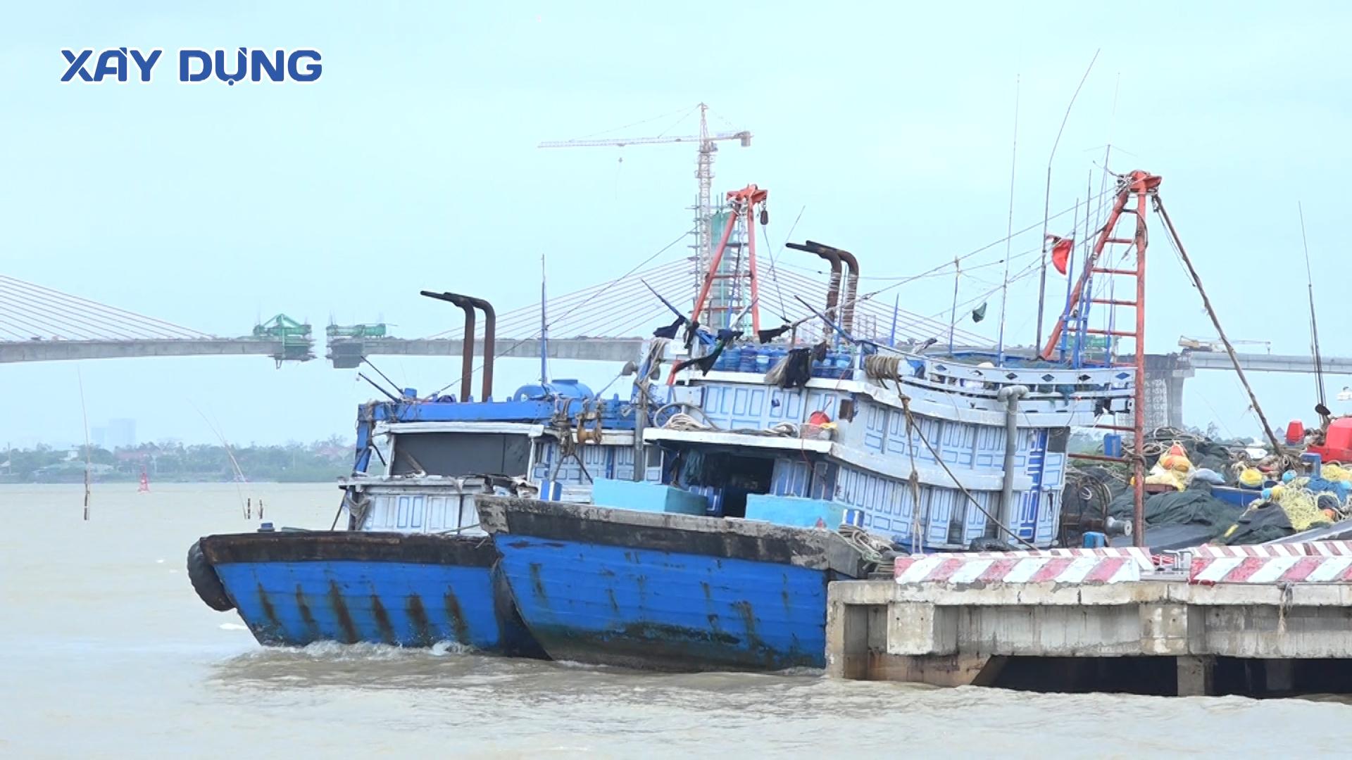 Nghệ An: Ứng phó hoàn lưu sau bão số 5