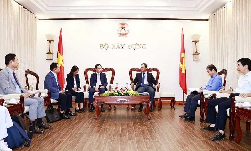 Thứ trưởng Lê Quang Hùng tiếp Tổng Giám đốc Tổ hợp Samsung Việt Nam