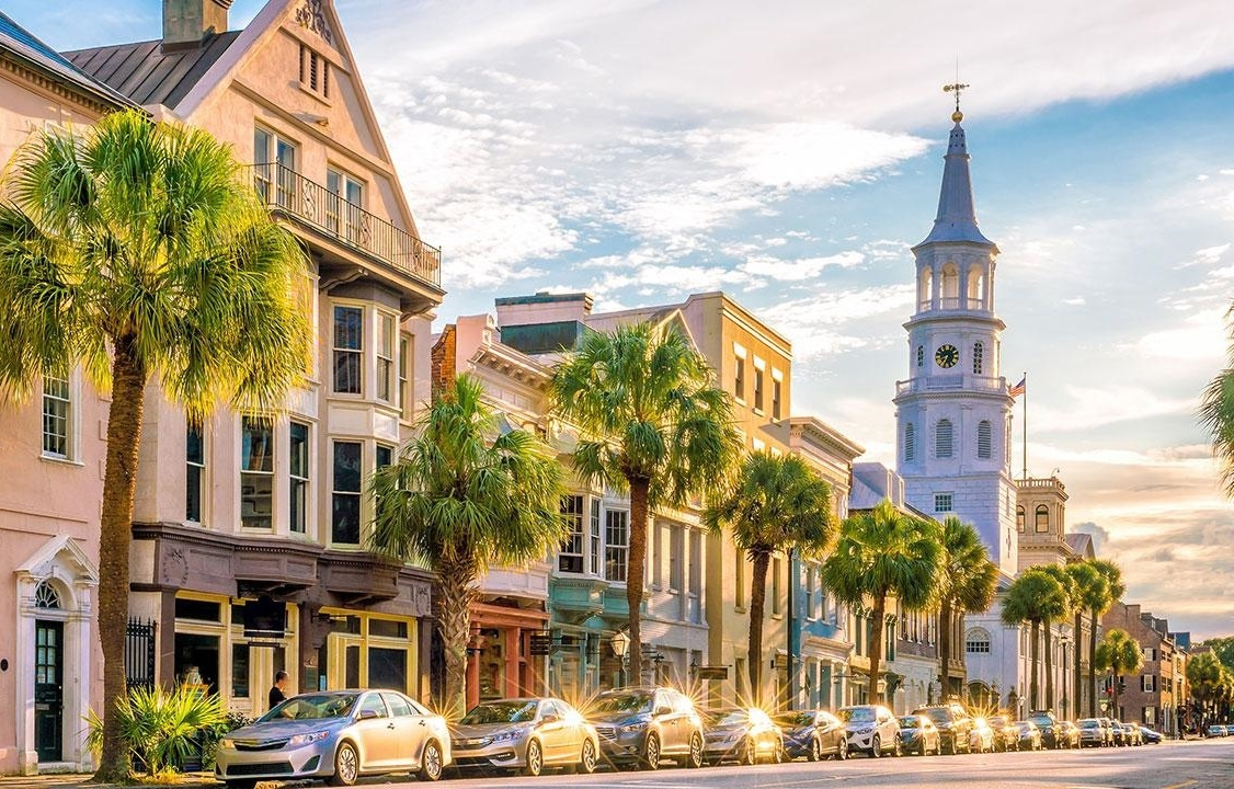 Charleston, thành phố đáng sống nhất nước Mỹ