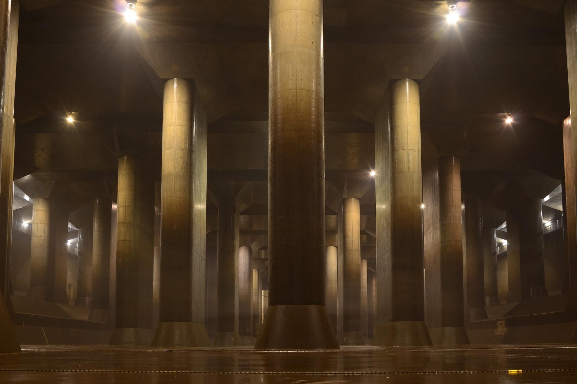 Hệ thống cống lớn nhất thế giới tại Nhật Bản