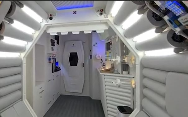 Căn hộ như phi thuyền người ngoài hành tinh