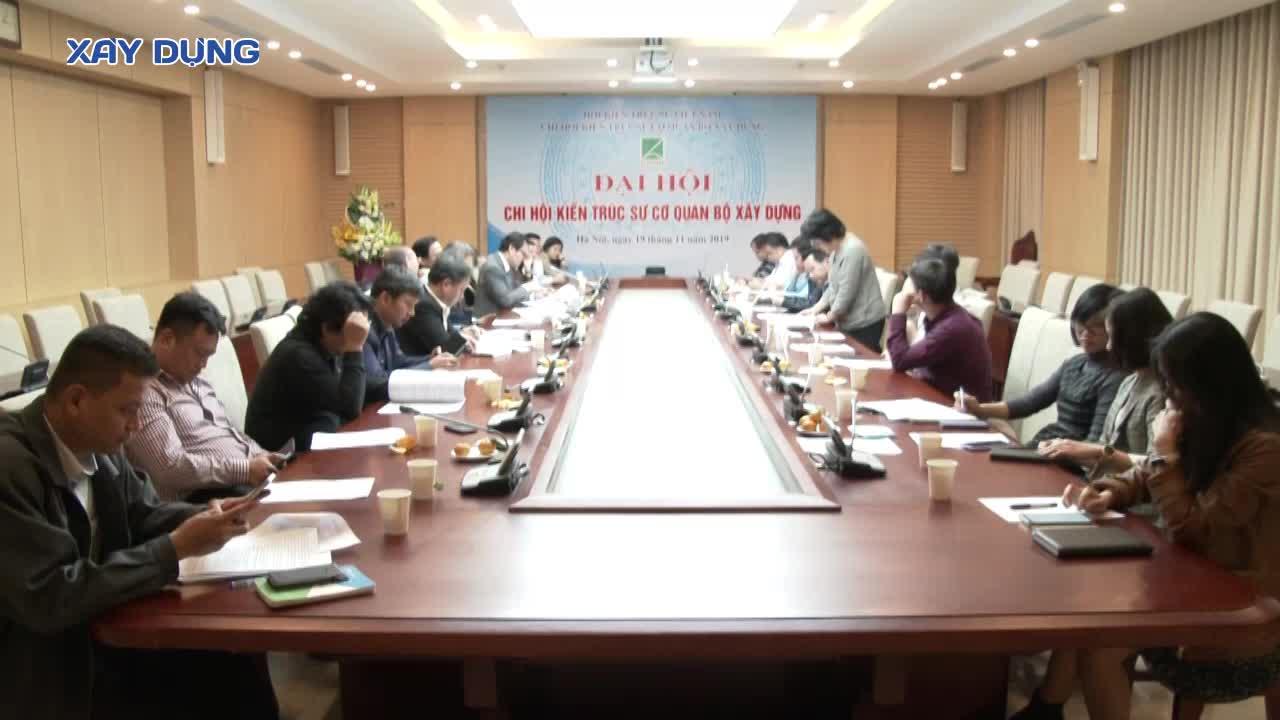 Ông Hồ Chí Quang tái nhiệm Chủ tịch Chi hội Kiến trúc sư cơ quan Bộ Xây dựng nhiệm kỳ 2020 – 2025