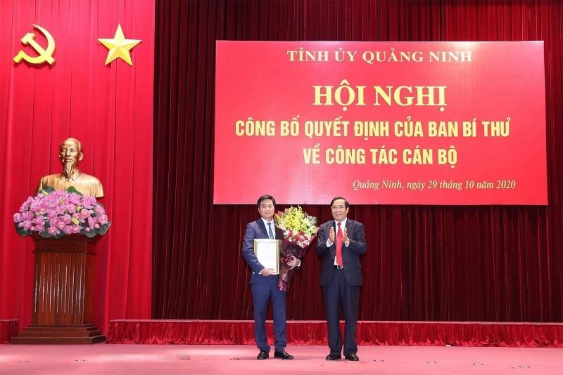Thứ trưởng Bộ Xây dựng Nguyễn Tường Văn làm Phó Bí thư Tỉnh ủy Quảng Ninh