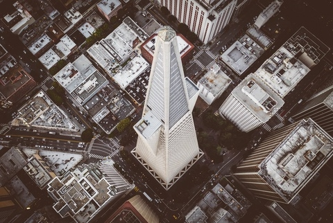 Tòa nhà chọc trời hình kim tự tháp ở Mỹ
