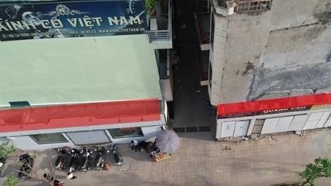 Nhà siêu mỏng trên đường Trường Chinh phủ bạt sau khi bị phản ánh