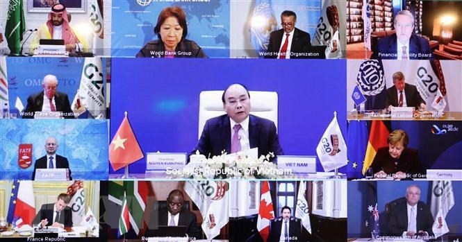 Thủ tướng kêu gọi G20 kiến tạo các nền tảng phát triển mới